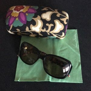Vera Bradley NWOT sunglasses with matching case